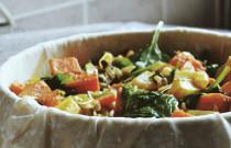 Recipe: Sweet Potato and Chickpea Filo Pie