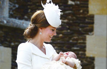 In Pictures: Princess Charlotte's Christening