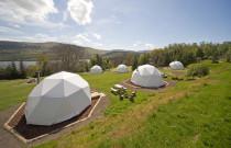 WIN 2 night 'Glamping' break in one the new Loch Tay Geo Domes with Waterside Breaks